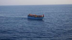 Viele Tote bei neuem Schiffsunglück vor Lampedusa