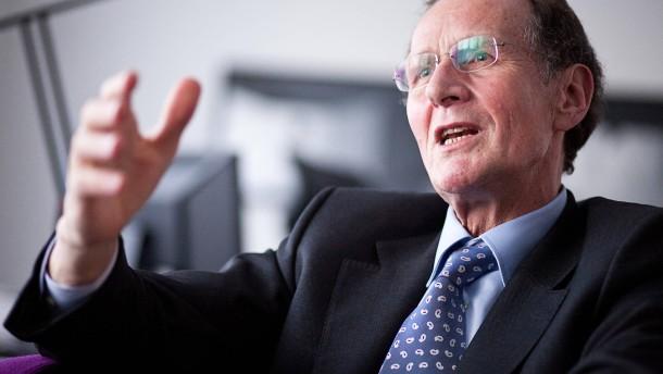 Bert Rürup soll im Tarifstreit bei der Lufthansa vermitteln
