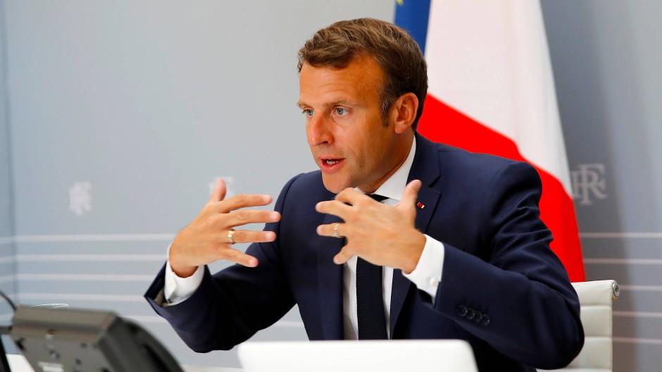 Emmanuel Macron ist wie viele französische Politiker beseelt von einer Planbarkeits- und Machbarkeitsvorstellung.