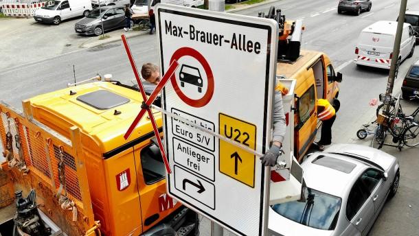 Fahrverbote sind sofort möglich