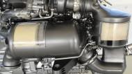 Was wird aus ihm? Ein Dieselmotor OM656 aus dem Hause Daimler.