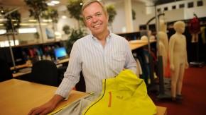 Michael Rupp - Der Geschäftsführer des Funktionskleidungs- und Ausrüstungsherstellers Jack Wolfskin spricht in Idstein mit Holger Paul.