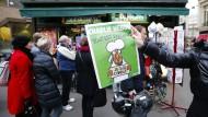 Charlie Hebdo schwimmt im Geld