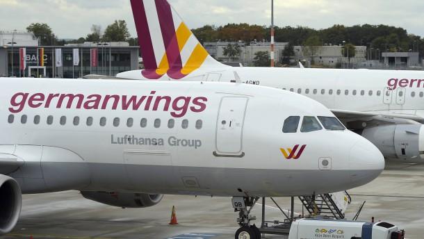 Germanwings setzt elf Fremdjets ein