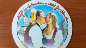 Werberat rügt Brauerei wegen Bierdeckel