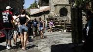 Touristen in Antalya