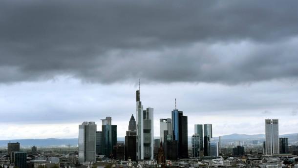 Auch das Rating von 17 deutschen Banken ist bedroht
