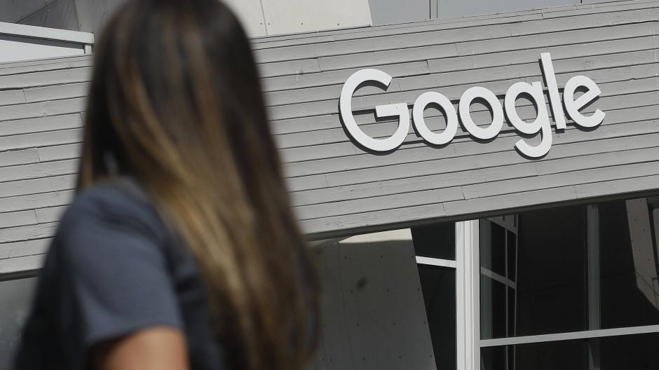 Auf dem Google-Campus in Kalifornien
