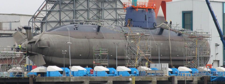 U Boot Porpoise Klasse Auftrag an Thyssen Kru...