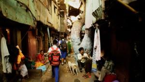 Indiens Armut bietet nur die Kulisse