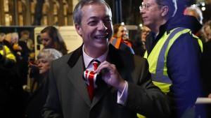 Nigel Farage versucht sich als Finanzguru