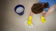Putzen, waschen, schrubben: Macht sich nicht von allein.