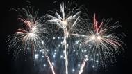 Kleines Feuerwerk der Danksagungen