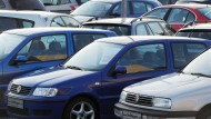 Ladenhüter: Gebrauchtwagen von Volkswagen