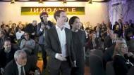 Mark Zuckerberg und seine Frau Priscilla Chan am Donnerstagabend in Berlin