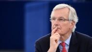 Der Franzose Michel Barnier verhandelt den EU-Austritt Großbritanniens für die Europäische Union.