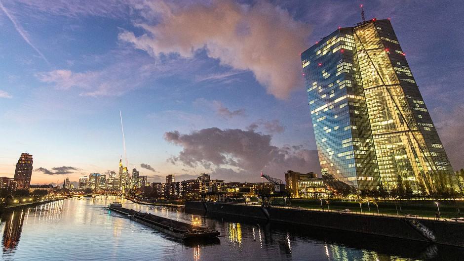 Nicht nur architektonisch von Bedeutung: Die EZB in Frankfurt