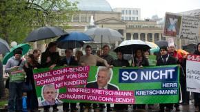 Proteste gegen Preisverleihung an Cohn-Bendit