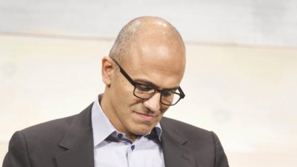 Microsoft-Chef Nadella bekommt 84 Millionen Dollar