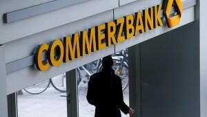Commerzbank-Aktienkurs fällt um mehr als 8 Prozent