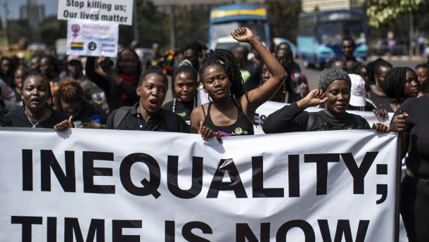 Reichtum und Elend in Afrika