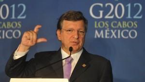 Barroso: Müssen uns nicht belehren lassen