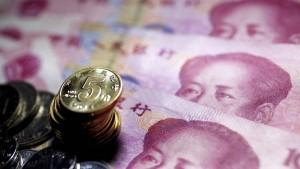 China geht Einkaufen