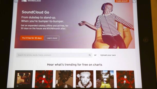 Soundcloud reicht das Geld noch bis zum vierten Quartal