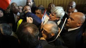 Air-France-Randalierern droht Entlassung