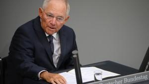 Schäubles Bilanz