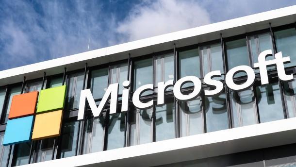 An Microsoft wächst alles, was mit der Cloud zu tun hat