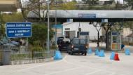 Grenzübergang in Albanien: Das Land wappnet sich für die Flüchtlingsströme.