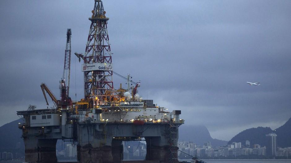 Ölförderung in Brasilien