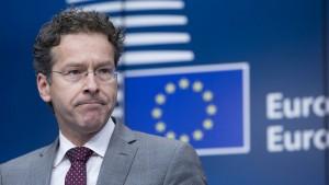 Dijsselbloem wehrt sich gegen Kritik aus EU-Parlament