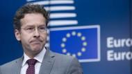 Offiziell bis Januar 2018 im Amt: Eurogruppenchef Jeroen Dijsselbloem