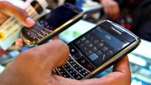 Blackberry klopft bei Facebook an