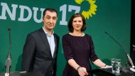 Befürworten einen starken Staat: Cem Özdemir und Katrin Göring-Eckardt, die Spitzenkandidaten der Grünen
