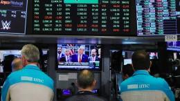 """""""Trump ist der Favorit der Börse"""""""