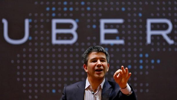 Investoren bringen Uber-Chef zu Fall