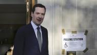 Möchte, dass sein Land in der EU bleibt: Britanniens Finanzminister George Osborne