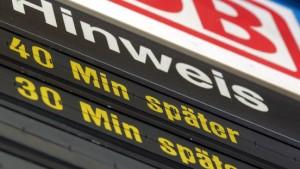 "Bahnverkehr soll ""erheblich"" behindert werden"