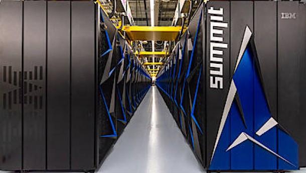 Der schnellste Computer der Welt steht jetzt in Amerika