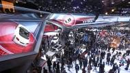 Früher war mehr Lametta: Einen eigenen Pavillon wie auf der IAA 2015 wird es von Audi nicht mehr geben.