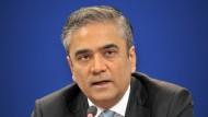 Kräftig unter Druck: Deutsche-Bank-Ko-Chef Anshu Jain