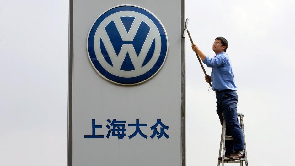 Auch der Autobauer Volkswagen wurde von der chinesischen Behörde genauer untersucht.