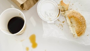 Fastfood am Schreibtisch - na klar!