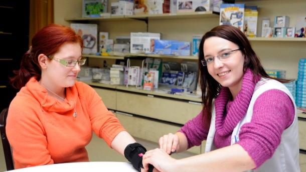 Der Einzelhandel ist bei Ausbildungswilligen beliebt