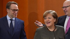 Merkels EZB-Politik