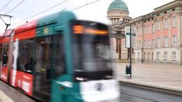 In Potsdam fährt die Straßenbahn von alleine