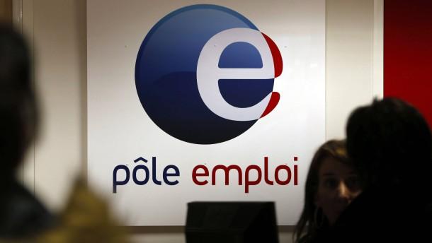 Arbeitslosigkeit in Frankreich steigt auf Rekordniveau
